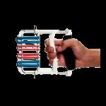 Rolyan Ergonomic Hand Exerciser,White,Each,561427