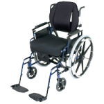 Acta-Back 18 Inches Tall Wheelchair Back Support,For Chair Size: 23″ to 25″, with Stretch-Air Cover,Each,BK-M18UX-24