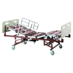 Invacare Bariatric Full Electric Bed with Mattress and Half Length Bed Rails,Bariatrc bed package,Each,BARPKGIVC-1633