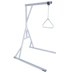 Drive Bariatric Free Standing Trapeze With Base,White,Each,13049