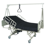 Medline LTC and AC Bariatric Beds with Overbed Trapeze,Each,MDR17503SBB