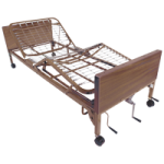 Drive Multi Height Manual Hospital Bed,With Full Length Side Rails and 80″ Foam Mattress,Each,15003BV-PKG-2