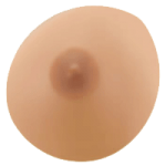 Classique Post Lumpectomy Oval Symmetrical Silicone Form Style 507,Size 7,Each,#507