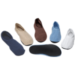 Posey Non-Skid Slippers,Small,Pair,6240S