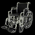 ITA-MED 16 Inch Premium Wheelchair,Adult Wheelchair,Each,W16-100