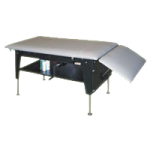 Hausmann Crank Hydraulic Changing And Treatment Table,Each,4703-722