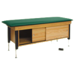 Hausmann Hi-Lo Power Cabinet Treatment Table,Each,4717