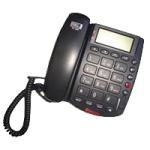 Future Call Big Button Caller ID Speakerphone with Real Time Clock,8″L x 7″W x 3″H,Each,FC-1202