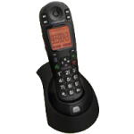 ClearSounds iConnect A6BT Amplified Cordless Phone with Bluetooth 4.0,Black,Each,CS-A6BT