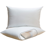 PF Feather Pillow,Circumference Rolls: 4″, Queen/King: 20″ x 32″,Each,PF4QUEEN-KING