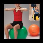 Rolyan Energizing Exercise Balls,Orange, 21-1/2″ Diameter (55cm),Each,A92681