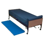 Medline Bedside Folding Floor Mat,60″L x 24″W x 2″H,Each,MDR11A2460