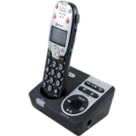 Amplicom USA PowerTel 720 Assure Plus Amplified DECT Cordless Phone,With Answering machine,Each,95477