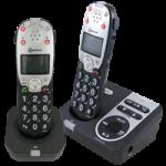 Amplicom USA PowerTel 720 Assure Plus Twin Amplified DECT Cordless Phone,Cordless phone,Each,95619