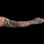 LympheDudes Fierce Beige Compression Arm Sleeve And Glove,Each,Fierce Biege