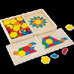Melissa & Doug Pattern Blocks and Boards,1.7″ x 8.5″ x 13.1″,Each,29