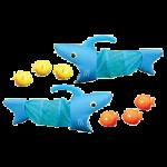 Melissa & Doug Spark Shark Fish Hunt Pool Toy,15″ x 13″ x 4.25″,Each,6664