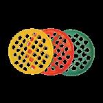 Power Web Hand Exerciser,Level 2, Medium Resistance, Red,Each,DP0058IC
