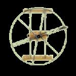ValueLine Shoulder Wheel Exerciser,37-1/2″Diameter,Each,2286A