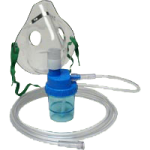 Allied Adult Mask with Nebulizer and 7 Feet Tubing,Mask with Nebulizer,Each,64085