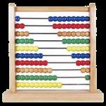 Melissa & Doug Classic Wooden Abacus,11.9″ x 12″ x 3″ (Assembled),Each,493