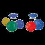 Aeromat Inflatable Massage Ball,7.5″, Spikey Nodule, Green,Each,35316