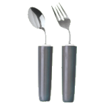 Maddak Comfort Grip Angled Cutlery For Right Hand,Angled Fork,Each,H746400107