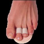 Budin Toe Splint,Three Toe, Left,Each,55980202