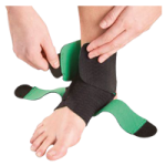 Mueller Green Adjustable Ankle Support,One Size Fits Most,Each,86511