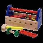 Melissa & Doug Take Along Tool Kit,9.9″ x 5.5″ x 4.8″ (Assembled),Each,494