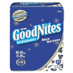 GoodNites Disposable Underwear For Boys,Large/X-Large, Jumbo,11/Pack,41315