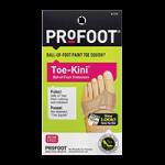 Profoot Toe-Kini Ball-Of-Foot Protector,Foot Protector,Pair,566968