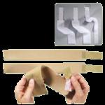 Rolyan Replacement Strap Kits For Individual Splints,Beige,Each,551741