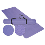 EcoWise Yoga Or Pilates Mat,Pine,Each,31695
