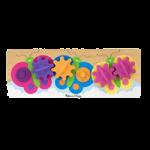 Melissa & Doug Fluttering Butterflies Gears Toddler Toy,14.63″ x 5.25″ x 1.25″,Each,3074
