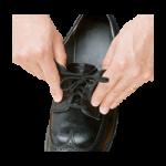 Norco Deluxe Elastic Shoelaces,Black, 27″L,34Pair/Pack,NC28738-BULK