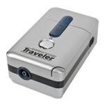 DeVilbiss Traveler Portable Compressor Nebulizer System,Without Battery,Each,6910D-DR