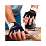 IMPACTO Open Finger Anti-Vibration Air Gloves,X-Large,Pair,BG401-XL