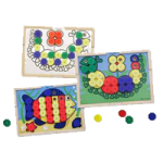 Melissa & Doug Sort And Snap Color Match,11.38″ x 15.75″ x 2.25″,Each,4313