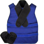 Polar Kool Max Poncho Vest System Kit,Each,KMVS+A