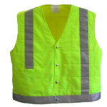 Polar Evaporative Cooling Safety Vest,Large,Each,ESV