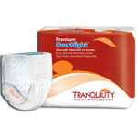 Tranquility Premium OverNight Disposable Absorbent Underwear,Small, 22″ to 36″,80/Case,2114