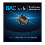 BACtrack Breathalyzer Mouthpieces,Mouthpieces,10/Pack,MPS-10