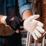 IMPACTO Full Finger Anti-Vibration Air Gloves,Medium,Pair,BG413-M