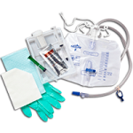 Medline Insertion Tray With Drainage Bag Without Catheter,10 ml Syringe,10/Pack,DYND11090