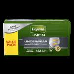 Depend Super Plus Absorbency Men Underwear,Large/X-Large,28/Pack, 2Pk/Case,13407