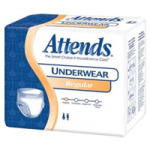 Attends Regular Absorbency Protective Underwear,Large (170lb to 210lb), Fits Waist/Hip: 44″ to 58″,18/Pack, 4Pk/Case,APV30
