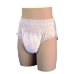 Select Disposable Absorbent Underwear,X-small, 17″ to 28″,24/Pack,2603