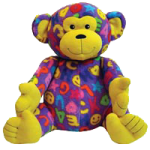 Melissa & Doug Beeposh Ricky Monkey Stuffed Animal,14.5″ x 11″ x 10″,Each,7230