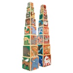 Melissa & Doug Wooden Animal Nesting Blocks,5.75″ x 5.75″ x 5.7″,Each,4207